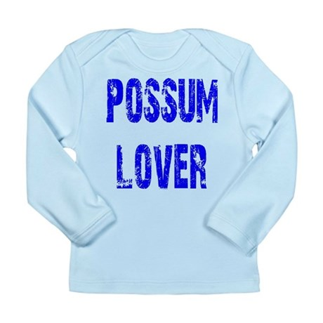 Possum Lover Long Sleeve Infant T-Shirt