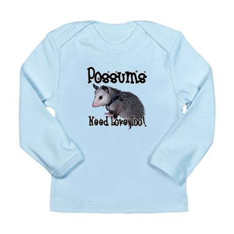 Possums Need Love Long Sleeve Infant T-Shirt