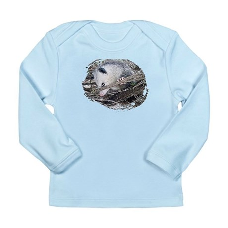 Peek-a-Boo Possum Long Sleeve Infant T-Shirt