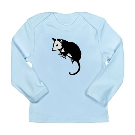Possum Silhouette Long Sleeve Infant T-Shirt