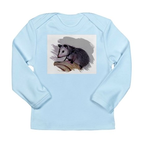 Baby Possum Long Sleeve Infant T-Shirt