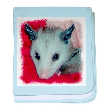 Little Possum baby blanket