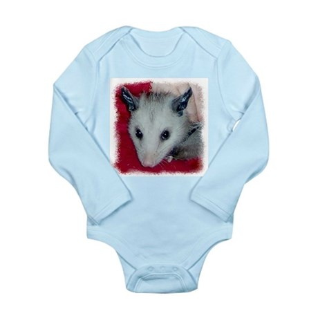 Little Possum Long Sleeve Infant Bodysuit