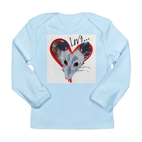 Possum Love Long Sleeve Infant T-Shirt