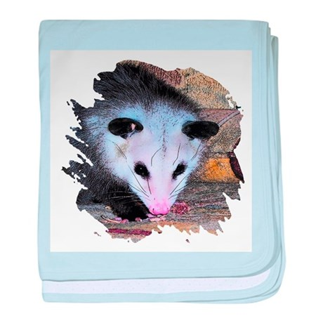 Virginia Opossum baby blanket
