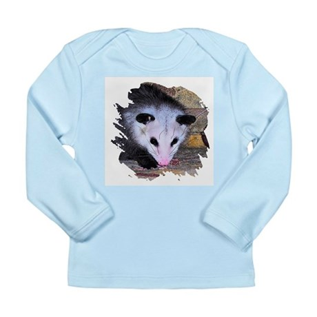 Virginia Opossum Long Sleeve Infant T-Shirt