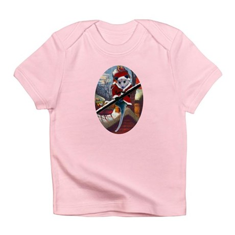 Possum Santa on Rooftop Infant T-Shirt