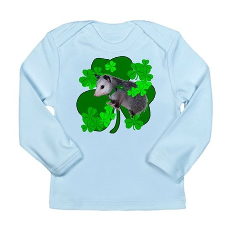 Lucky Irish Possum Long Sleeve Infant T-Shirt