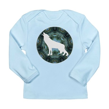 White Wolf Long Sleeve Infant T-Shirt