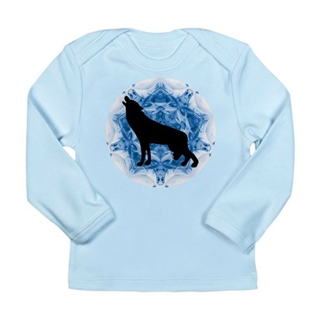 Wolf Silhouette Long Sleeve Infant T-Shirt
