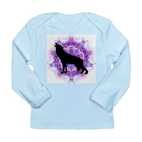 Wolf Long Sleeve Infant T-Shirt