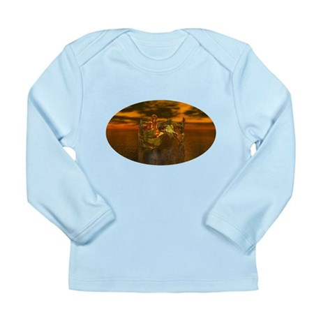 Golden Angel Long Sleeve Infant T-Shirt
