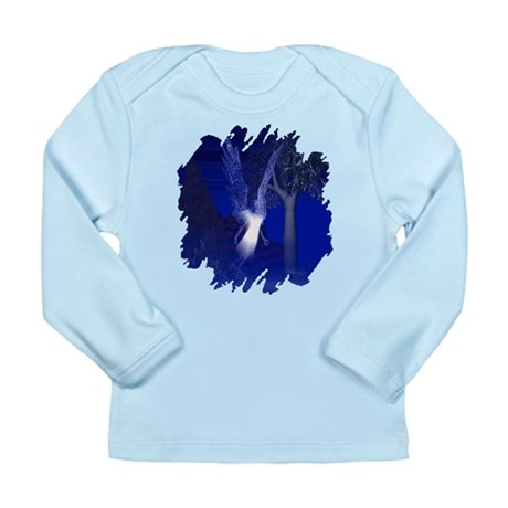 Iridescent Angel Long Sleeve Infant T-Shirt