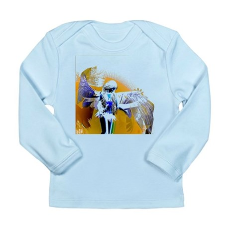Golden Angel Art Long Sleeve Infant T-Shirt