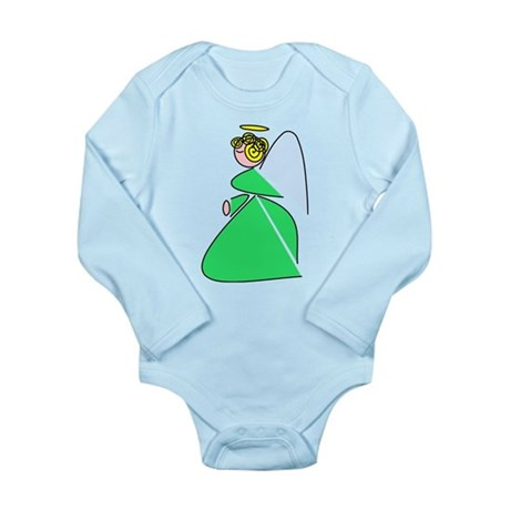 Pretty Angel Long Sleeve Infant Bodysuit