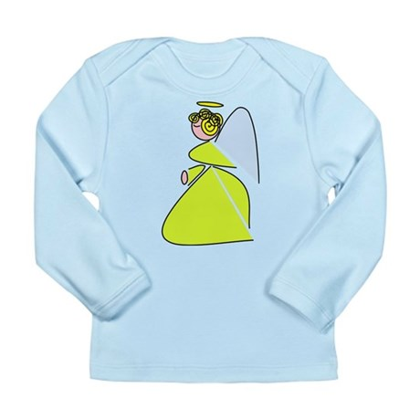 Pretty Angel Long Sleeve Infant T-Shirt