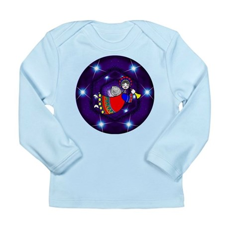 Christmas Angel Long Sleeve Infant T-Shirt