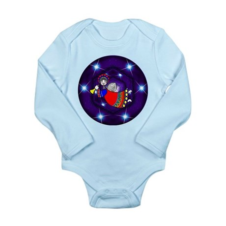 Flying Angel Long Sleeve Infant Bodysuit