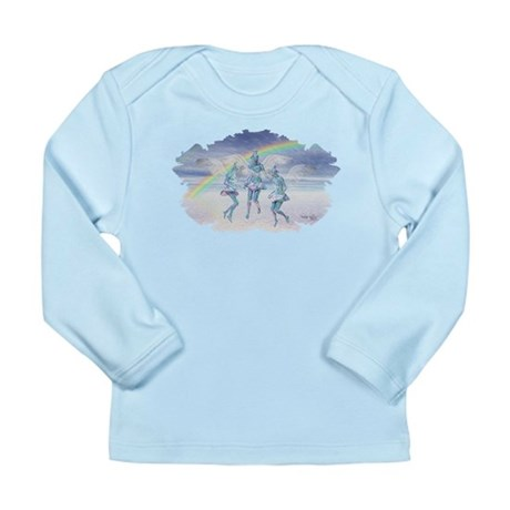 Angels and Rainbows Long Sleeve Infant T-Shirt