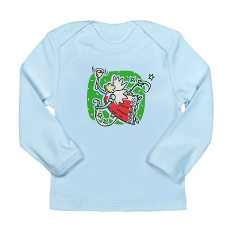 Whymsical Angel Long Sleeve Infant T-Shirt