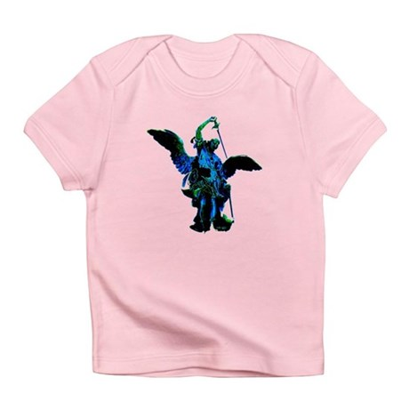 Powerful Angel - Blue Infant T-Shirt