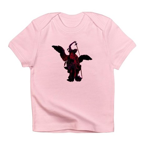 Powerful Angel - Red Infant T-Shirt