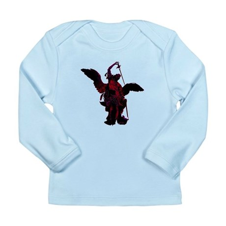 Powerful Angel - Red Long Sleeve Infant T-Shirt