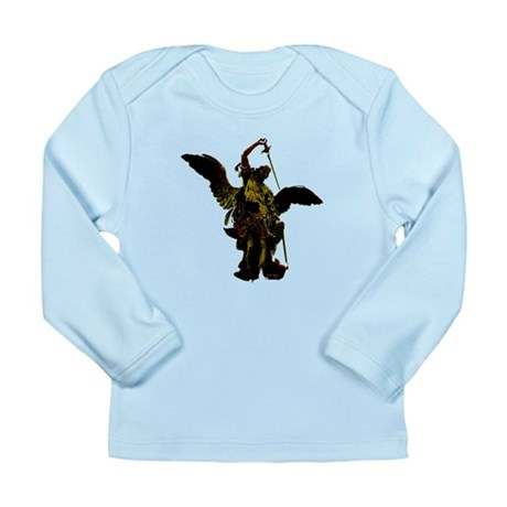 Powerful Angel - Gold Long Sleeve Infant T-Shirt