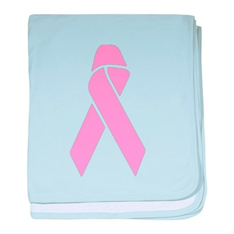 Pink Ribbon baby blanket
