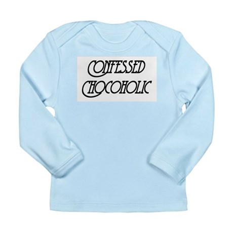 Confessed Chocoholic Long Sleeve Infant T-Shirt
