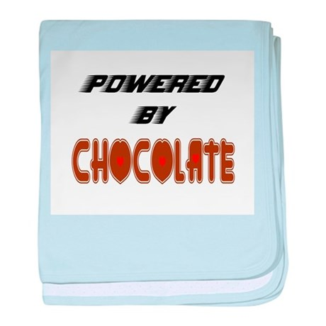 Powered by Chocolate baby blanket