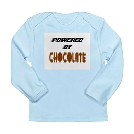 Powered by Chocolate Long Sleeve Infant T-Shirt