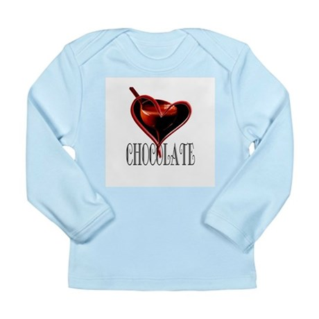 CHOCOLATE Long Sleeve Infant T-Shirt