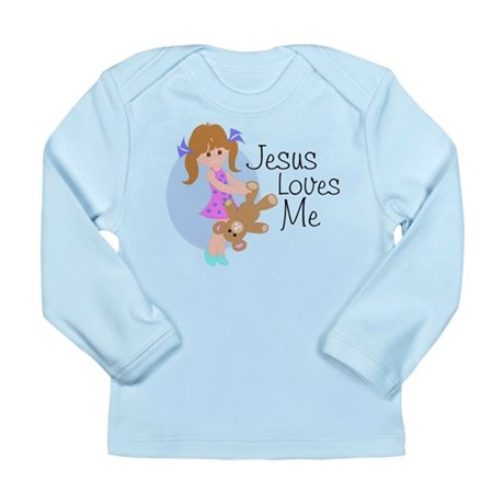 Jesus Loves Me Long Sleeve Infant T-Shirt