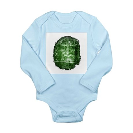 Jesus - Shroud of Turin Long Sleeve Infant Bodysui