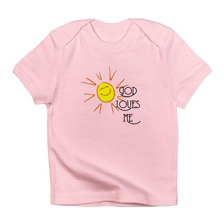 God Loves Me Infant T-Shirt
