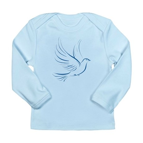 Dove of Peace Long Sleeve Infant T-Shirt