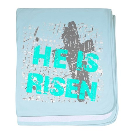 He is Risen baby blanket