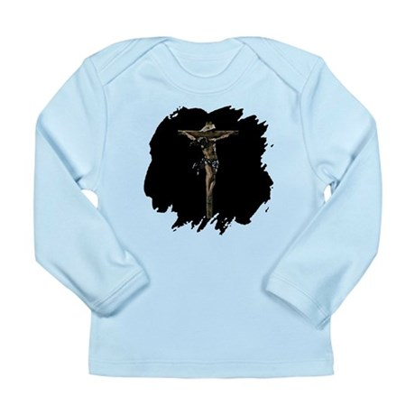 Jesus on the Cross Long Sleeve Infant T-Shirt