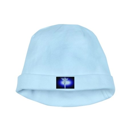 Jesus on Cross baby hat
