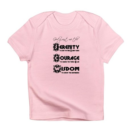 Serenity Prayer Infant T-Shirt