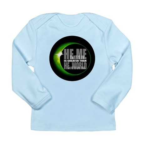 He is Greater Long Sleeve Infant T-Shirt