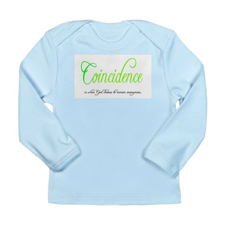 Coincidence Long Sleeve Infant T-Shirt