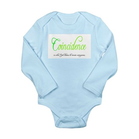 Coincidence Long Sleeve Infant Bodysuit