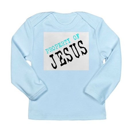 Property of Jesus Long Sleeve Infant T-Shirt