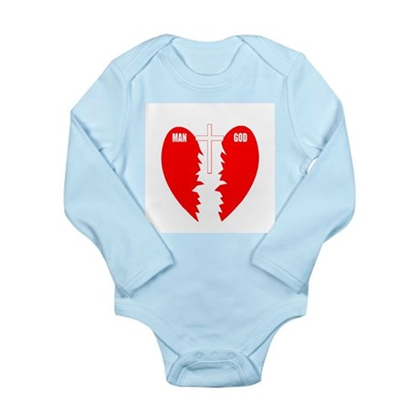 Jesus is the Bridge Long Sleeve Infant Bodysuit