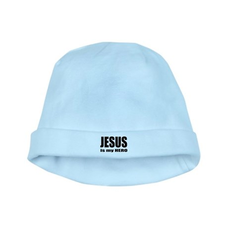 Jesus is Hero baby hat