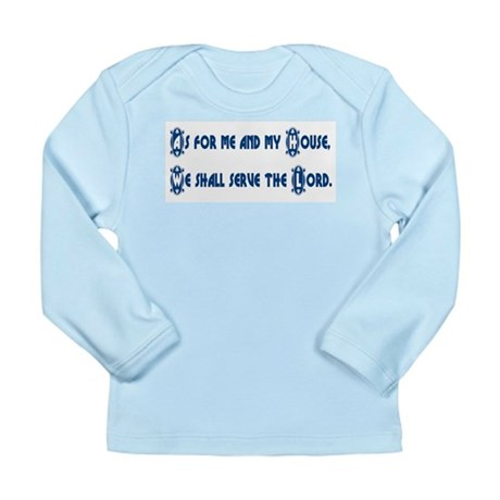 My House Long Sleeve Infant T-Shirt