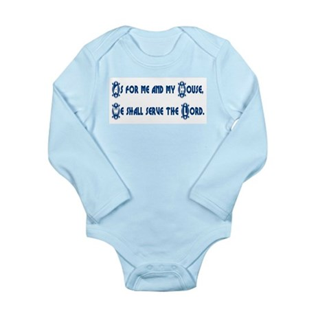 My House Long Sleeve Infant Bodysuit