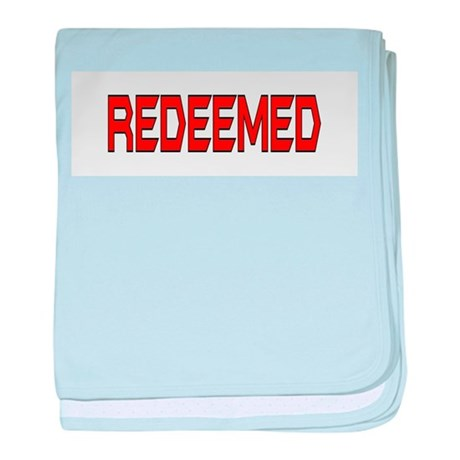 Redeemed baby blanket